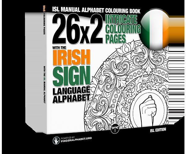 - ISL MANUAL ALPHABET COLORING BOOK LegendaryMedia Publishing