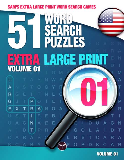 Sam's Extra Large Print Word Search Games 01