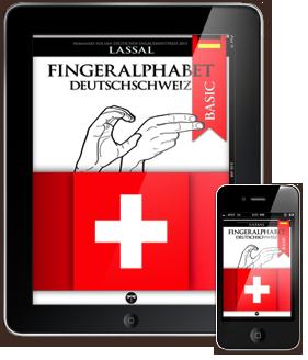 Das deutsche Fingeralphabet der Schweiz – Buchstaben A-Z Nummern 0-10