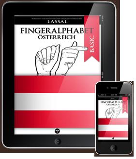 Fingeralphabet Österreich – Buchstaben A-Z Nummern 0-10