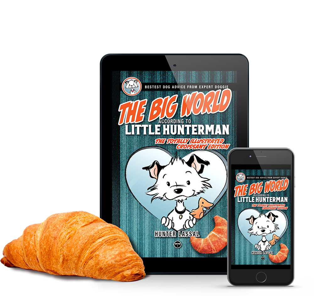 The Big World According to Little Hunterman - CROISSANT -ebook