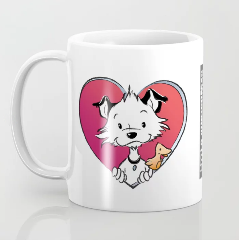 Little Hunterman Love Mug