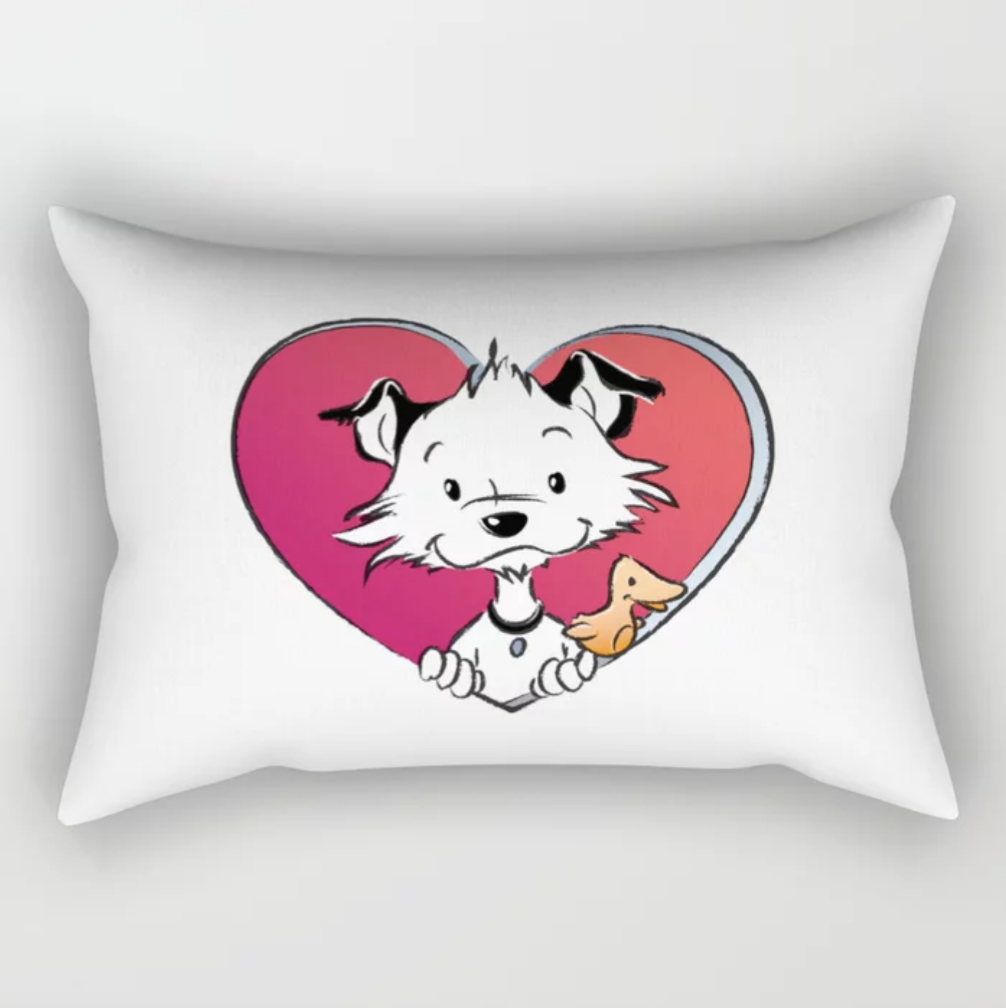 Little Hunterman Love Pillow